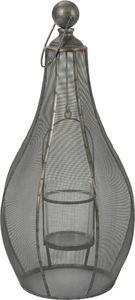 Amadeus - lanterne noire en métal grand modèle - Lanterne D'extérieur