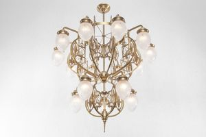 PATINAS - pannon 15 armed chandelier - Lustre
