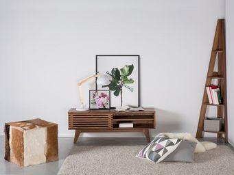 BELIANI - meuble de rangement - Etagère D'angle