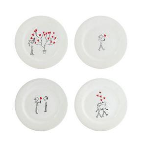 GIEN - les amoureux - Assiette Canapé