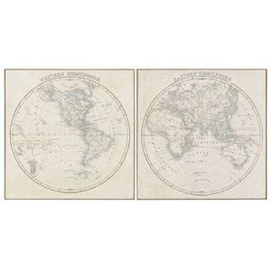 MAISONS DU MONDE - mappemonde 1419878 - Mappemonde