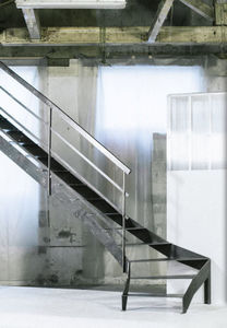 RONDCARRE -  - Escalier Un Quart Tournant