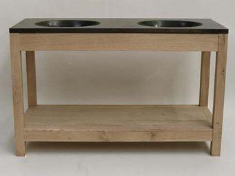 Antiek-Bouw - a10 diana 140 - Meuble Double Vasque