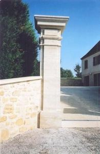 Occitanie Pierres - pierre naturelle d'auberoche - Pilier