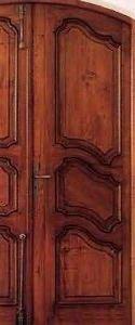 Ebenisterie D'art Bertoli - arlesienne - Porte Pali�re Pleine