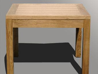 Lawrens - table en chêne brossé - Table À Rallonge