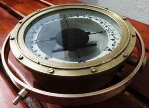 La Timonerie Antiquit�s marine -  - Compas