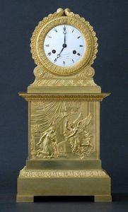 CHARLES AND REBEKAH CLARK - an empire clock - Horloge À Poser