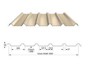 Corus Panels & Profiles - rl32 - Tuile Mixte