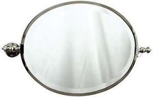 Volevatch - miroir bistrot. ovale - Miroir De Salle De Bains