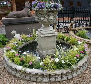 Triton - ragley fountain with 2.7m circular acanthus leaf s - Fontaine Centrale D'extérieur