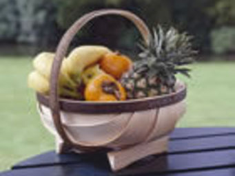 The Truggery - 10 inch round with handle - Panier