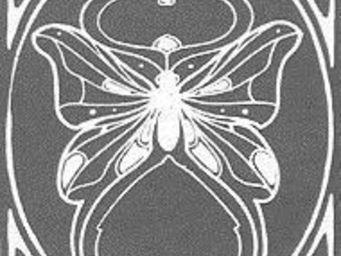 Replicata - glas mit gestrahltem ornament motiv 201 - Dalle De Verre