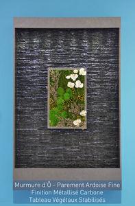 ETIK&O - murmure d'eau tableau végétal - Mur D'eau