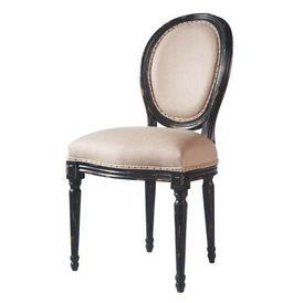 Chaise Noire Lin Louis