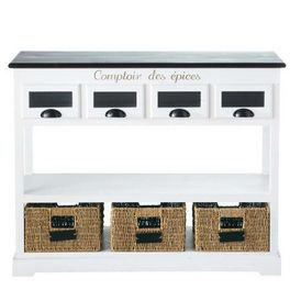 console comptoir des pices etag re pices maisons. Black Bedroom Furniture Sets. Home Design Ideas