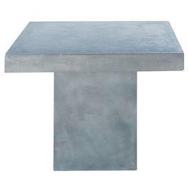 table diner mineral table de repas carr e maisons du. Black Bedroom Furniture Sets. Home Design Ideas