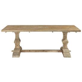 Table d ner bois naturel lourmarin table de repas - Table en bois maison du monde ...