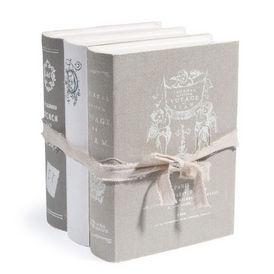Boite livres aristo grise maisons du monde decofinder - Maison du monde boite a bijoux ...