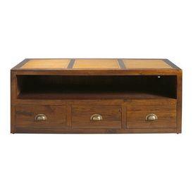 Meuble tv bamboo meuble tv hi fi maisons du monde decofinder - Meuble occasion maison du monde ...