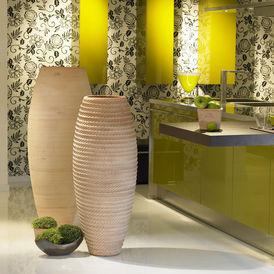 Vase fuseau fabrication la corde vase grand format - Vase decoratif design ...