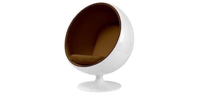 fauteuil ballon aarnio coque blanche interieur mar fauteuil et. Black Bedroom Furniture Sets. Home Design Ideas