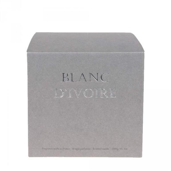 Fleur Deau Bougie Parfumée BLANC DIVOIRE Decofinder - Lit d039eau rond