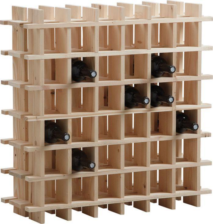 BARCLER - Range-bouteilles-BARCLER-Casier à vin en bois 36 bouteilles ...