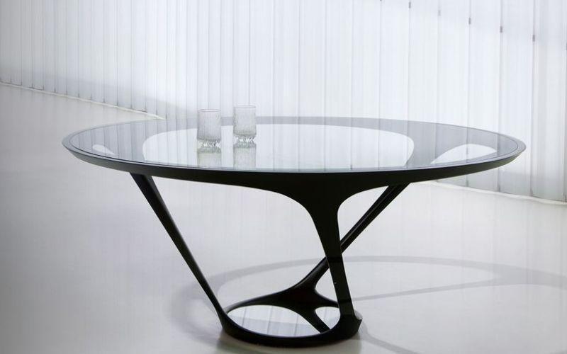table de repas ronde roche bobois decofinder With roche bobois table ronde