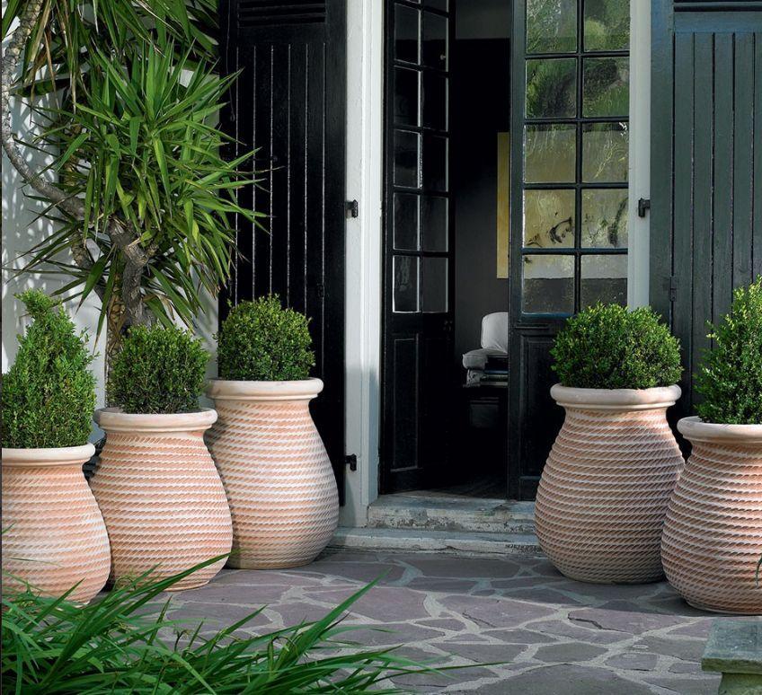Jarre naturel poterie goicoechea decofinder - Jarre deco jardin lyon ...
