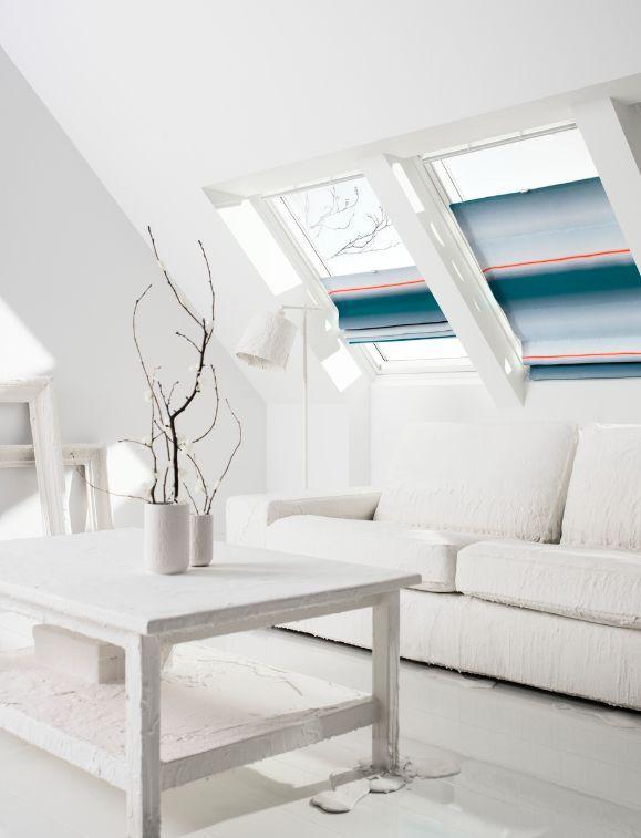 Store fen tre de toit int rieur velux decofinder for Store velux interieur