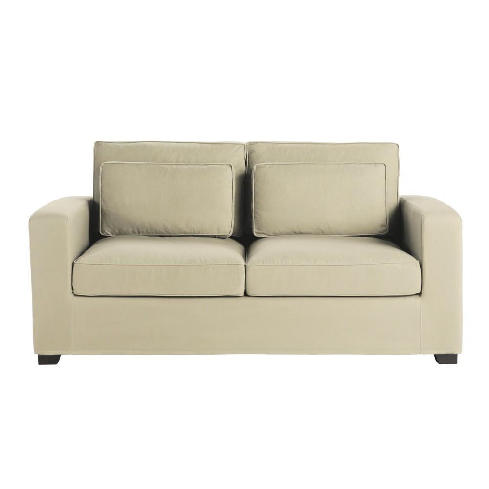 mi canap 2 places maisons du monde decofinder. Black Bedroom Furniture Sets. Home Design Ideas