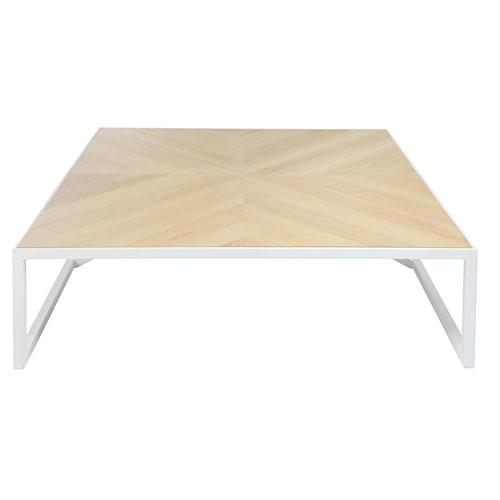 win table basse carr e maisons du monde decofinder. Black Bedroom Furniture Sets. Home Design Ideas