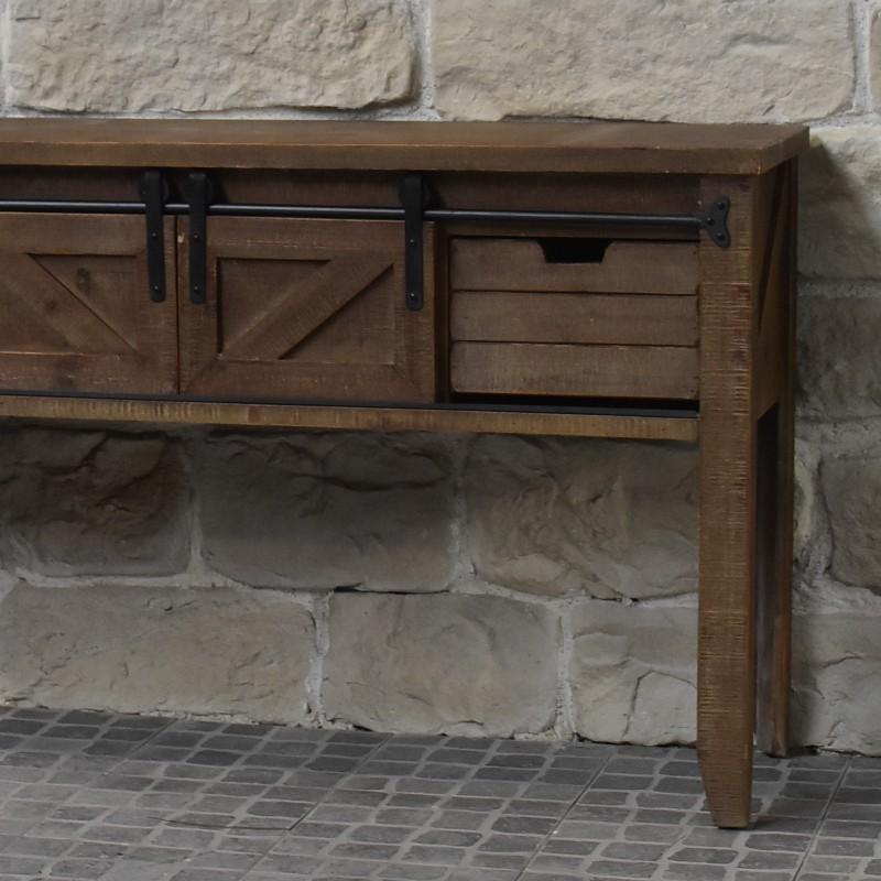 Console De Drapier: Meuble Console Table De Drapier Industriel Bois Fe