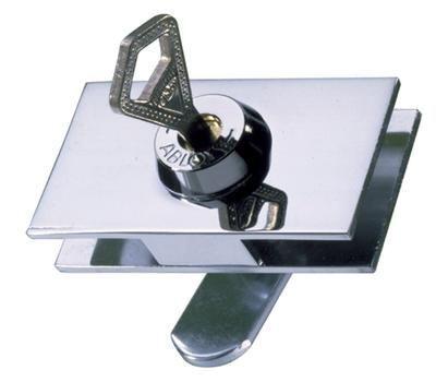 ADLER - Serrure de vitrine-ADLER-Laiton chromé