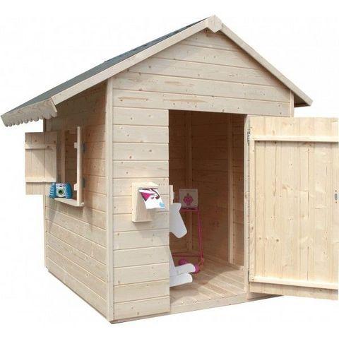 JARDIPOLYS - Maison de jardin enfant-JARDIPOLYS-Maisonnette enfant en bois SWEETY