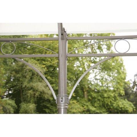 Chalet & Jardin - Tonnelle-Chalet & Jardin-Tonnelle en acier autoportante 3x4m avec toile Cap