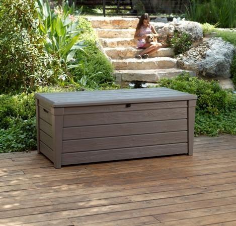 Chalet & Jardin - Coffre de jardin-Chalet & Jardin-Coffre deluxe en résine 455l 145x70x60cm
