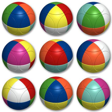 MARUSENKO - Casse-tête-MARUSENKO-Casse-tête sphère marusenko triangular niveau 5