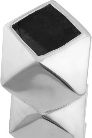 KOKOON DESIGN - Vase à fleurs-KOKOON DESIGN-Vase Design aluminium poli Diamond