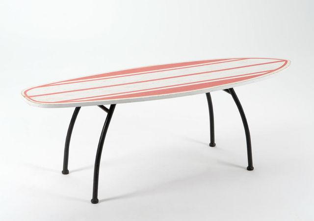 Amadeus - Banc-Amadeus-Banc surf en bois et métal