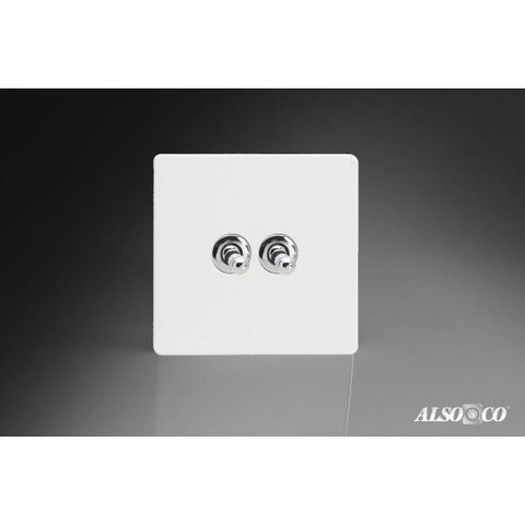 ALSO & CO - Interrupteur double-ALSO & CO-Double Toggle Switch