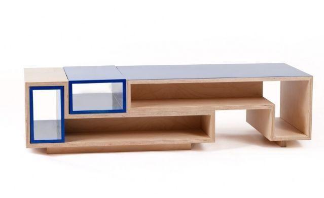 BUTTERPLY - Table basse rectangulaire-BUTTERPLY-Méli Mélo