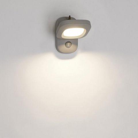 Philips - Applique d'extérieur-Philips-LED orientable détecteur Cloud IR IP44 H18 cm