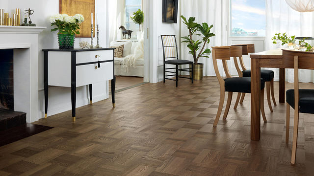 TARKETT - Parquet-TARKETT-contemporain noble