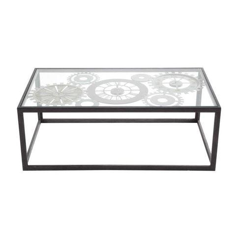 clocks table basse carr e maisons du monde decofinder. Black Bedroom Furniture Sets. Home Design Ideas