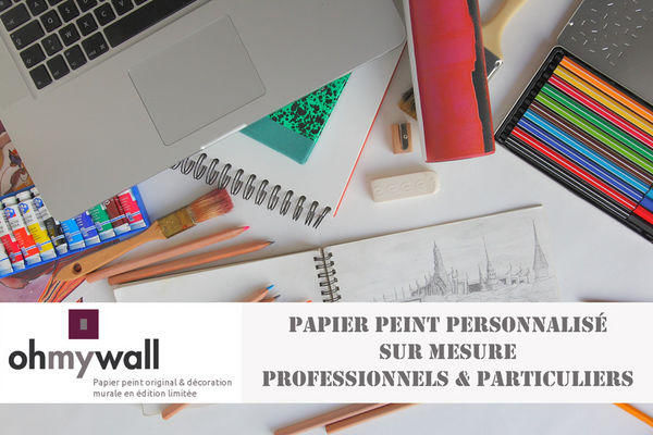 Ohmywall - Papier peint personnalisé-Ohmywall-Papier peint personnalisé sur mesure