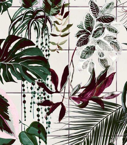 MAISON BALUCHON - Papier peint-MAISON BALUCHON-Tropical 11