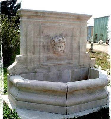 Esprit Antique - Fontaine murale d'extérieur-Esprit Antique