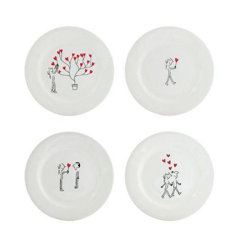 GIEN - Assiette canapé-GIEN-Les amoureux